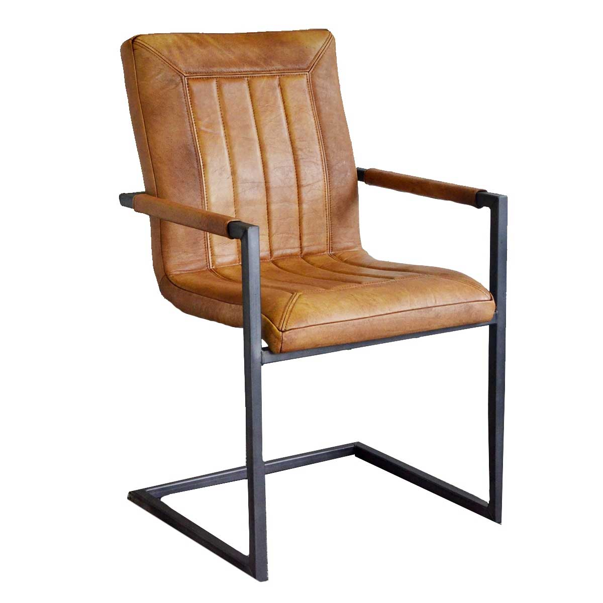 freischwinger cadi aus b ffelleder livior m bel im. Black Bedroom Furniture Sets. Home Design Ideas