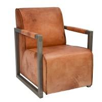Lounge-Sessel-Duke-Clubsessel-cognac-amerikanisch-Bueffelleder-Industriedesign
