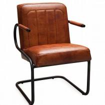 freischwinger aus echtem b ffelleder livior. Black Bedroom Furniture Sets. Home Design Ideas