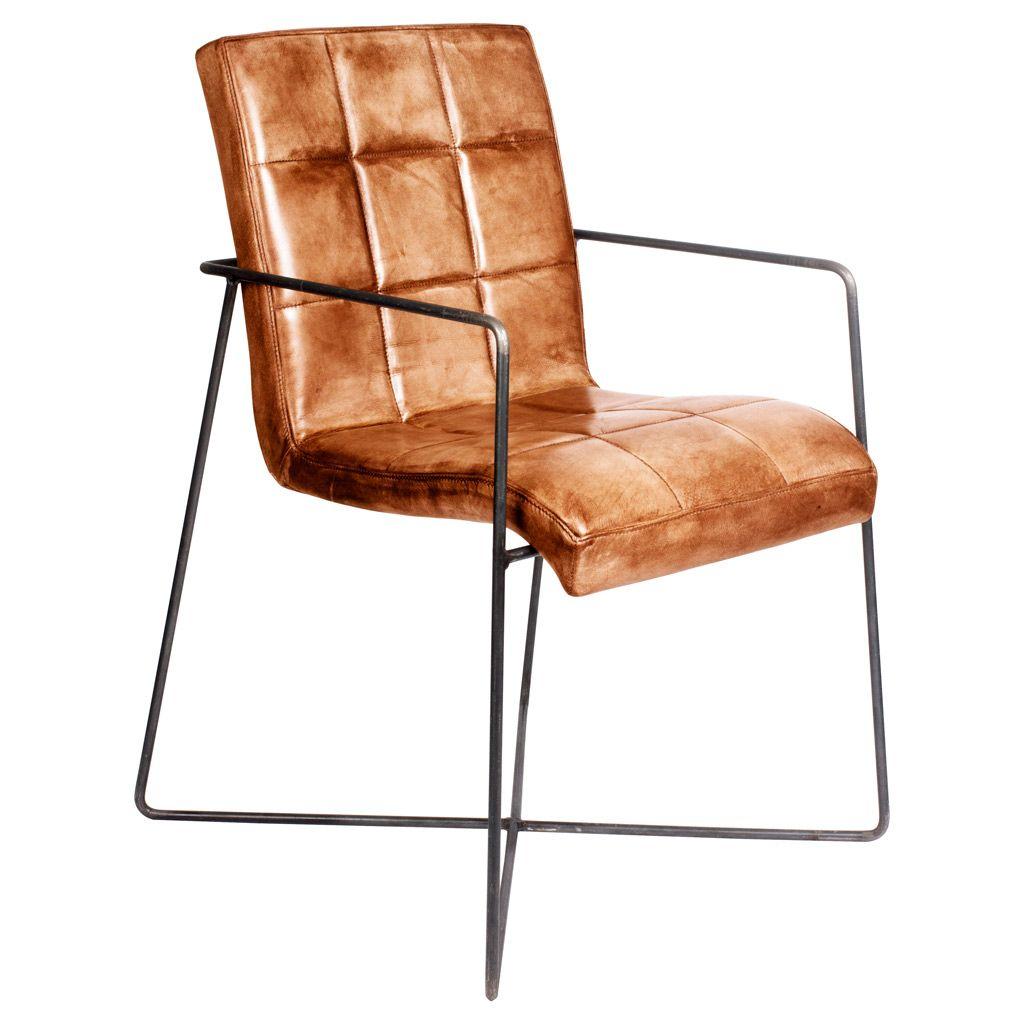designstuhl fargo fine aus echtem b ffelleder livior. Black Bedroom Furniture Sets. Home Design Ideas