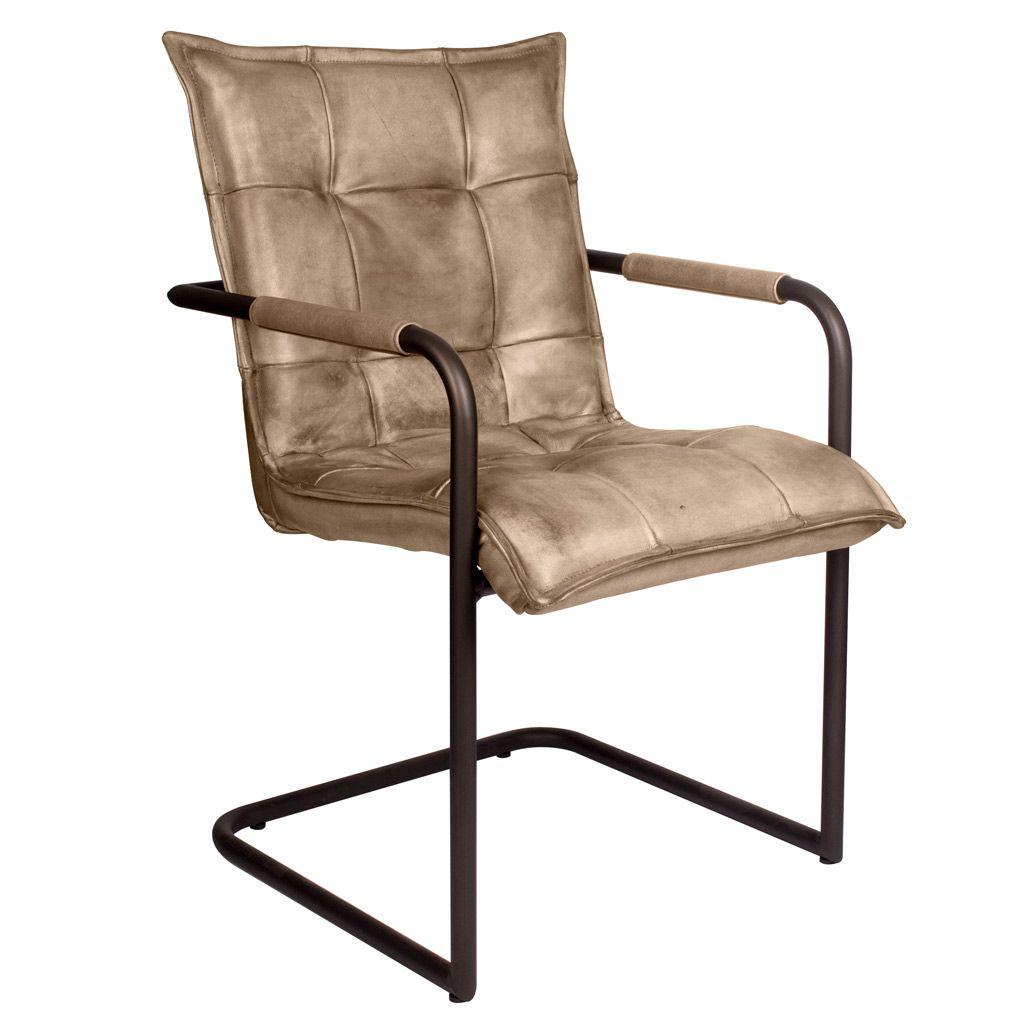 freischwinger goodman round aus echtem b ffelleder livior. Black Bedroom Furniture Sets. Home Design Ideas