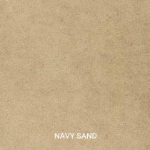 Ledermuster von unseren Indurstriedesign Möbeln. Echtes Büffelleder in der Farbe Navy Sand. Muster kann man einfach Bestellen.