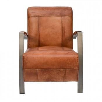 Lounge-Sessel-King-Clubsessel-cognac-Bueffelleder-Industriedesign-3301