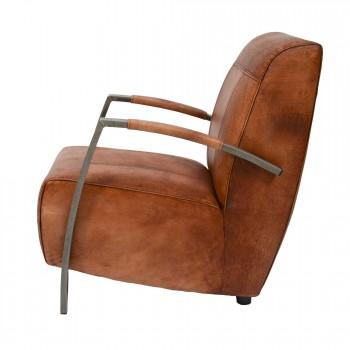 Lounge-Sessel-King-Clubsessel-cognac-Bueffelleder-Industriedesign-3305