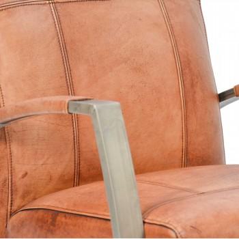 Lounge-Sessel-King-Clubsessel-cognac-Bueffelleder-Industriedesign-3427