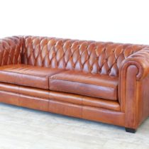 Couch Oxford 3 seater Cognac 3