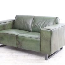 Couch Jeroen 2 seater Army Green 4