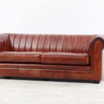 Couch London 3 seater Cognac 4