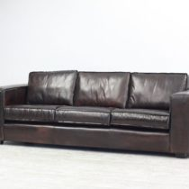 Couch New York 4 seater Dark Tobacco 4