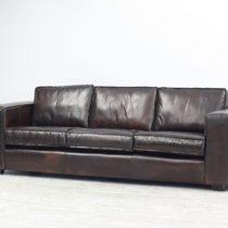 Couch New York 4 seater Dark Tobacco 4